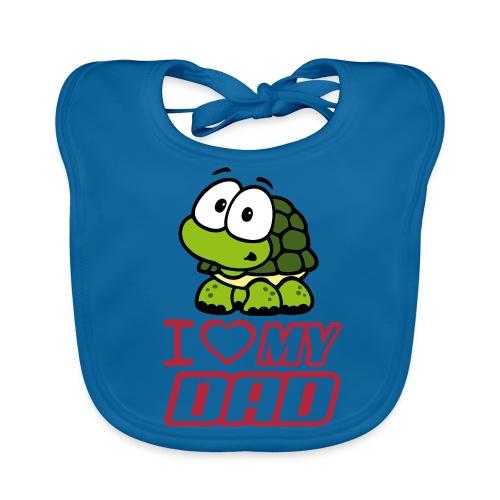 turtle bib - Baby Organic Bib