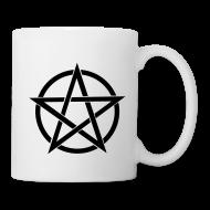 Mugs & Drinkware ~ Mug ~ Black Pentagram Mug