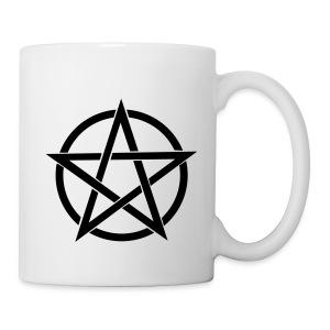 Black Pentagram Mug - Mug