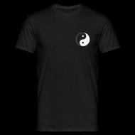 T-Shirts ~ Men's T-Shirt ~ Black & White Yin Yang