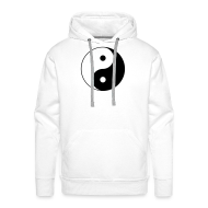 Hoodies & Sweatshirts ~ Men's Premium Hoodie ~ Yin Yang Design