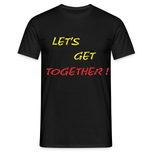 TS NOIR HOMME TOGETHER - T-shirt Homme