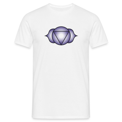 Ajna Brown Chakra - Men's T-Shirt