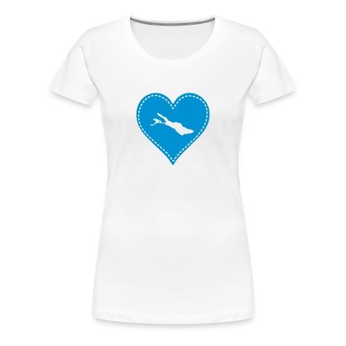 bodensee  T-Shirt - Frauen Premium T-Shirt