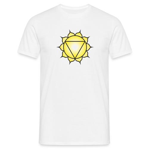 Manipura Solar Plexus Chakra - Men's T-Shirt