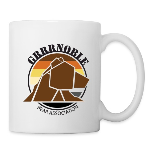 MUG GRRRNOBLE BEAR ASSOCIATION - Mug blanc