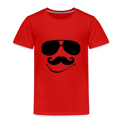 mustache shades - Kids' Premium T-Shirt