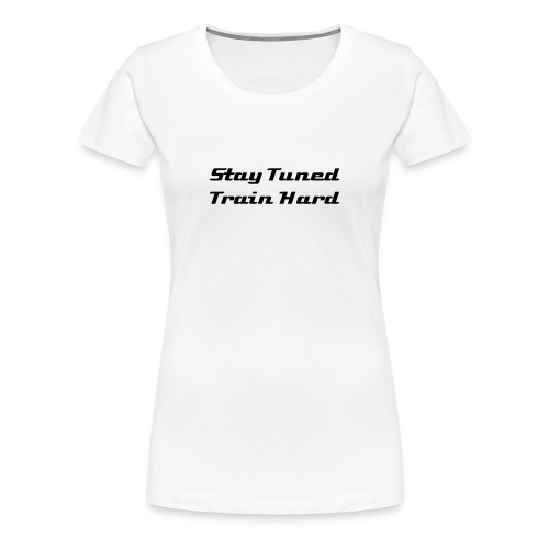 Keep it real (Ladies white) - Women's Premium T-Shirt
