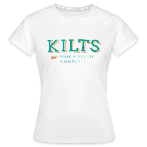 Kilts - Girlz - Women's T-Shirt