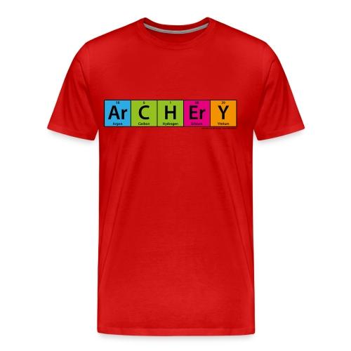 ArCHErY Periodensystem - Männer Premium T-Shirt