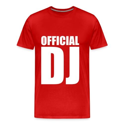 Official DJ Shirt - Men's Premium T-Shirt