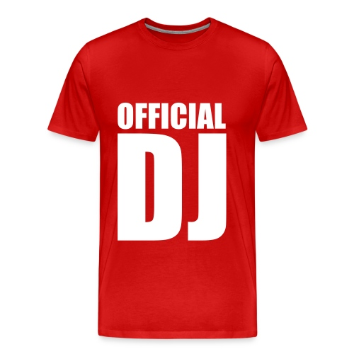 Official DJ Shirt - Men's Premium T-Shirt