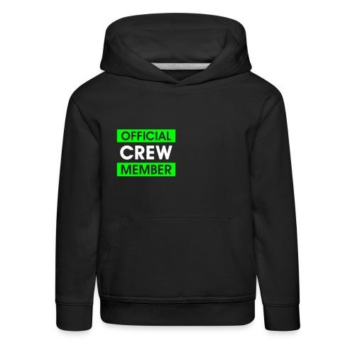 Exension crew member hoodie - Premium hættetrøje til børn