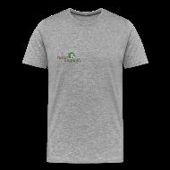 T-shirts ~ Herre premium T-shirt ~ herre t-shirt, alm logo, ikke øko