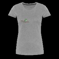 T-shirts ~ Dame premium T-shirt ~ dame t-shirt, alm logo, ikke øko