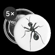 Badges ~ Badge petit 25 mm ~ La fourmi