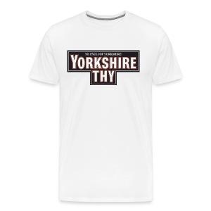 Men's Yorkshire Thy t-shirt - Men's Premium T-Shirt
