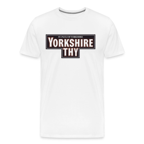 Men's Yorkshire Thy t-shirt - Men's Premium T-Shirt