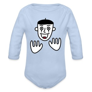 Say nothing, Mr Mime! - Longsleeve Baby Bodysuit