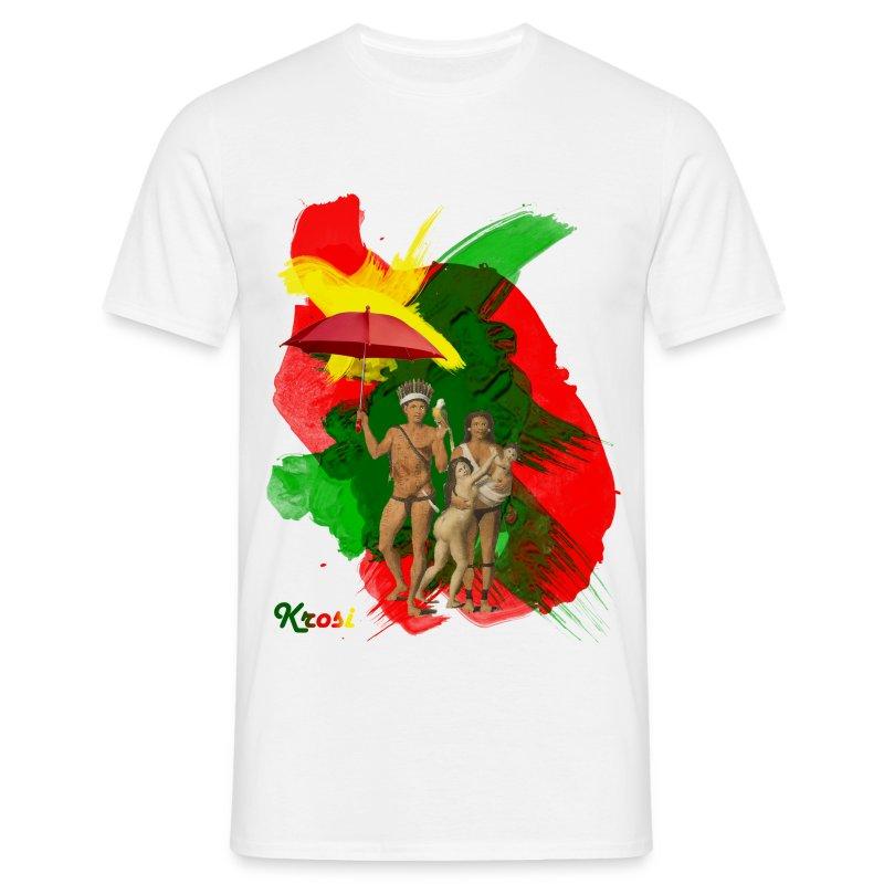 Famiri Potreti - Mannen T-shirt