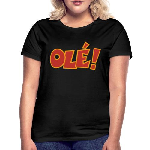 Olé! T-Shirt (Schwarz/Damen) Colors - Frauen T-Shirt