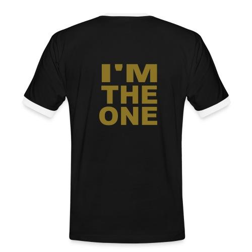 love - T-shirt contrasté Homme