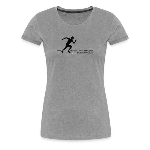 Fédération française de running gag (femme) - T-shirt Premium Femme