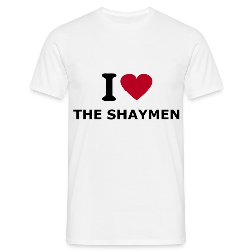 I Love The Shaymen - Men's T-Shirt