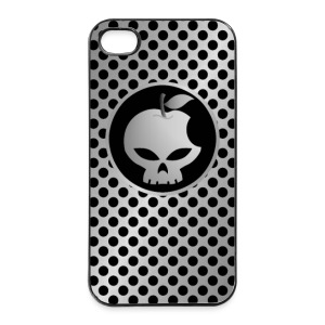 coque smartphone skull metal style - Coque rigide iPhone 4/4s