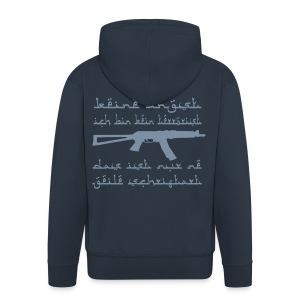 Kein Terrorist - Männer Premium Kapuzenjacke