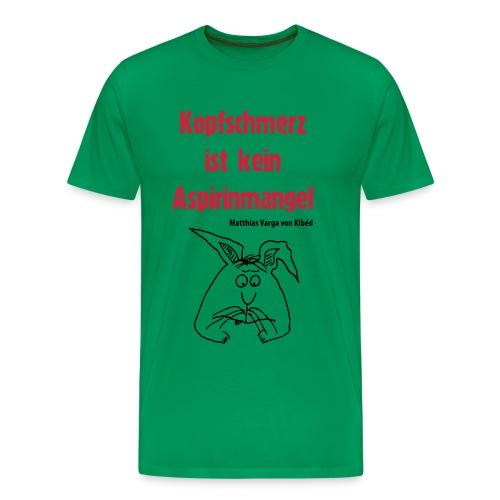 T-Shirt Aspirin - Männer Premium T-Shirt
