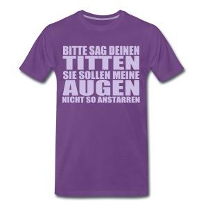 Titten - Männer Premium T-Shirt