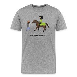 Men T-Shirt - Pray 4 Bud - Men's Premium T-Shirt