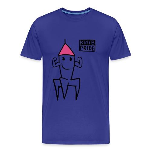 Mucki Pinkcap HerrenT-shirt - Männer Premium T-Shirt