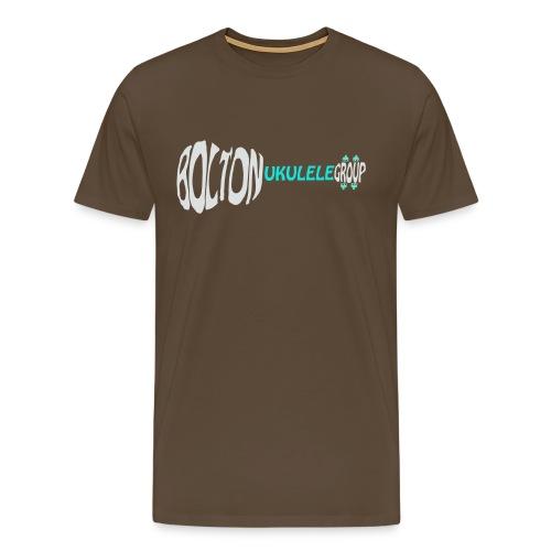 Classic Tee - Inverted Colours & Horizontal - Men's Premium T-Shirt