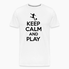 Keep calm and play Koszulki