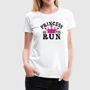 Princess on the run T-Shirts - Women's Premium T-Shirt