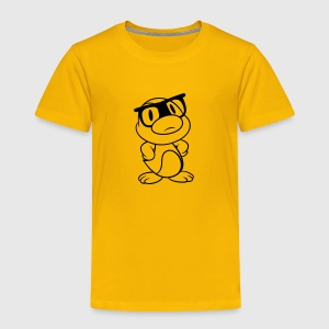 Hipster Duck, And T-shirts - Børne premium T-shirt