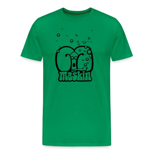 Maskin Pipe simple - Premium-T-shirt herr