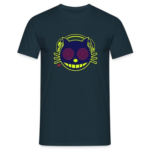 t-shirt homme imprimé chat - T-shirt Homme