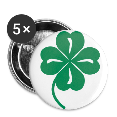 White clover Buttons