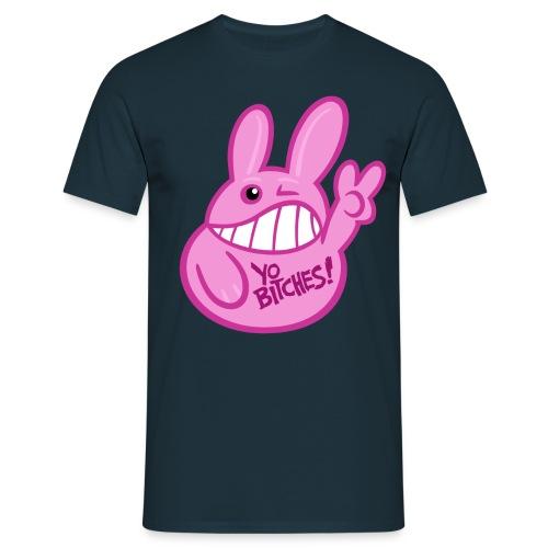 YO BITCHES! (rund) Boys - Männer T-Shirt