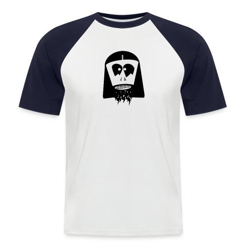 Blackmetal - Mannen baseballshirt korte mouw