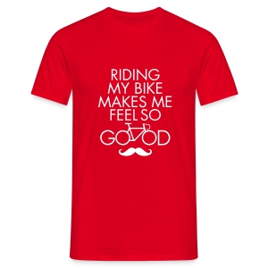Riding My Bike Makes Me Feel So Good Tee shirts - T-shirt Homme