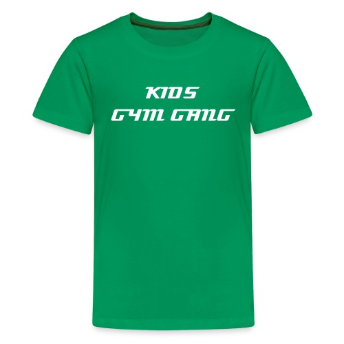 GYM GANG KIDS - Teenager Premium T-Shirt
