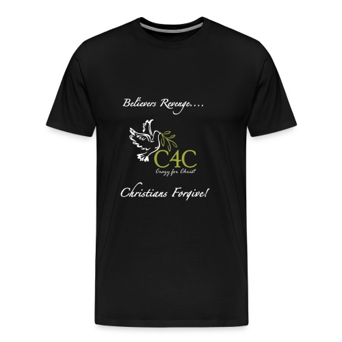 Christians Forgive - Männer Premium T-Shirt