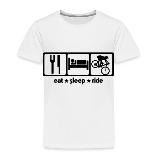 Premium T-skjorte for barn