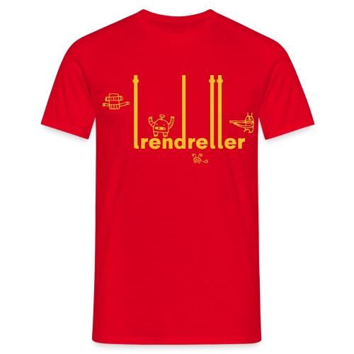 T-Shirt 'Trendretter Bots' - Männer T-Shirt