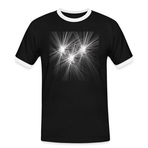 explotion d'étoiles - T-shirt contrasté Homme
