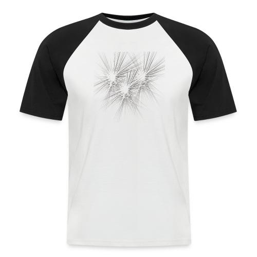 explotion d'étoiles - T-shirt baseball manches courtes Homme